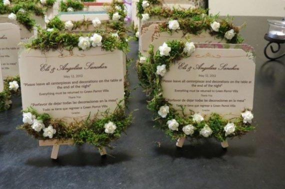 Menu pour les tables inspiration pour notre mariage for Idee menu original