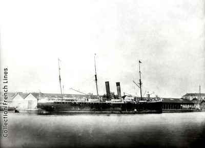 Le Lafayette vers 1870