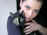 Moi et Ma Kitty (Chatte ecalle de tortue de un 1 an