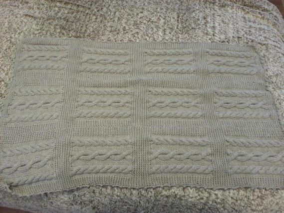 couverture bébé en tricot