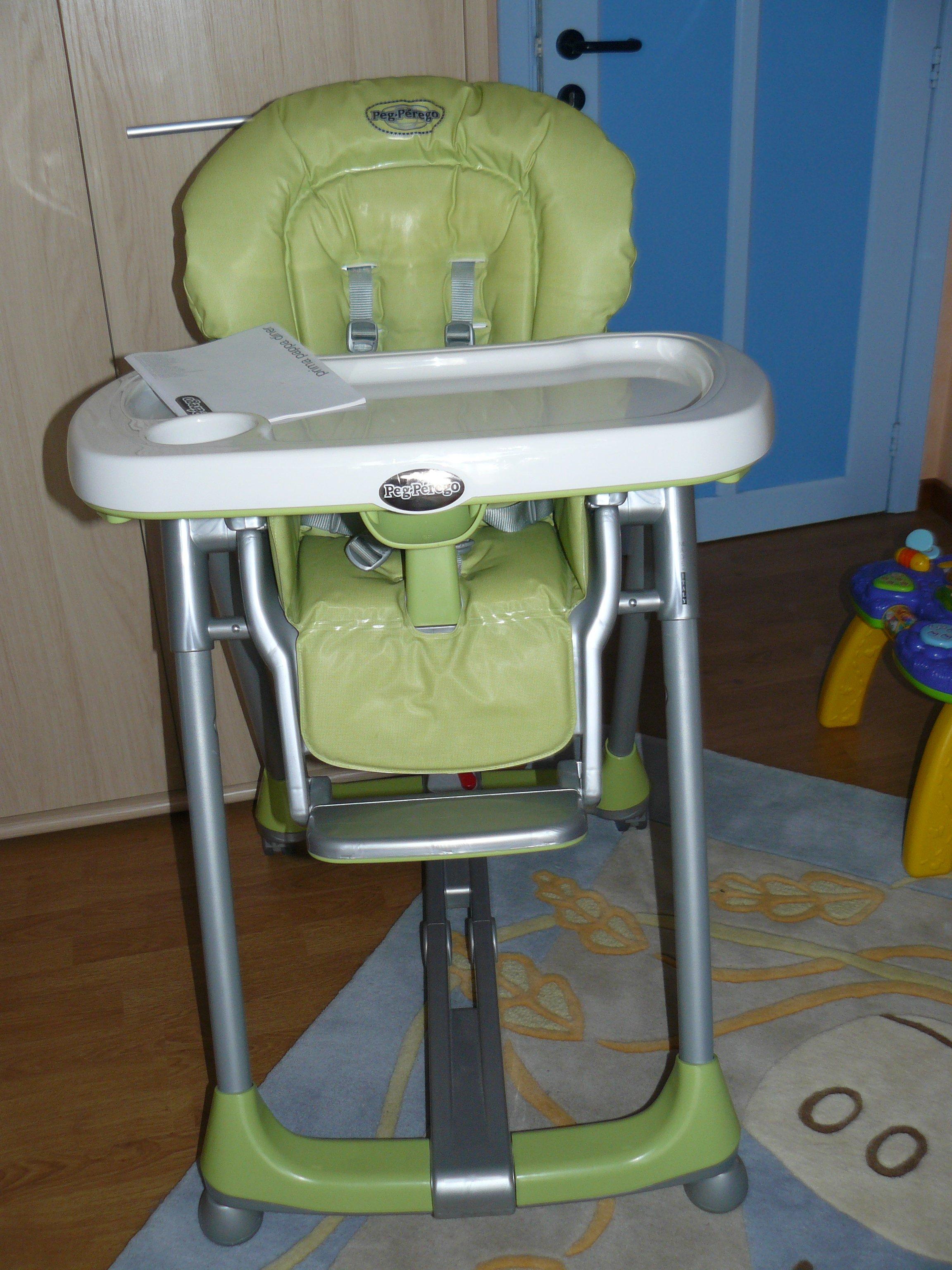 Chaise haute peg perego prima papa ventes puericulture for Super u chaise haute