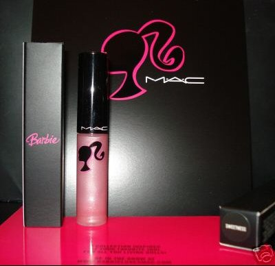 barbie MAC gloss