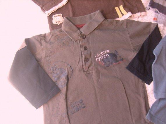 tee-shirt ML electro , TBE,6 ans , 1 € 50.
