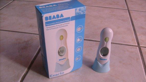 thermometre EXACTO 4 en 1 de BEABA , servi 2 fois , com neuf , 15 €.