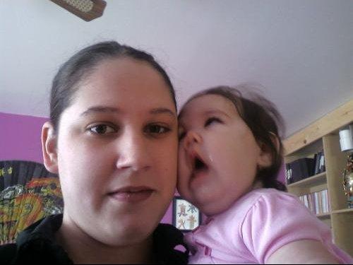 Kassandra et maman 22 mars 08-