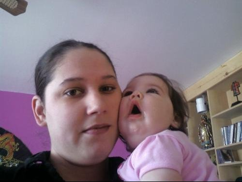Kassandra et maman 22 mars 08--