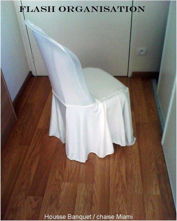 housse Banquet chaise Miami 2