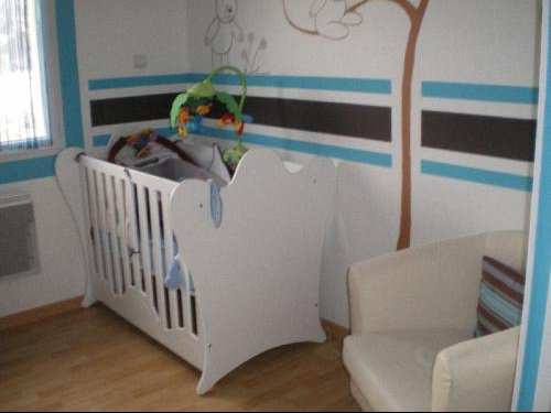 Awesome Chambre Bebe Turquoise Et Chocolat Contemporary ...