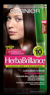 300 chtain fonc herbabrillance - Coloration Chatain Fonc