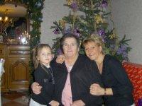 Ma fille & petite fille et moi (déc 2007)