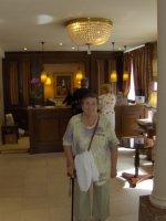 Moi à l'hotel