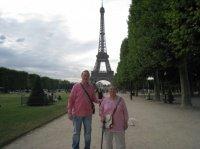 Steeve & moi et Madame Tour Eiffel