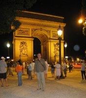 Steeve et l'Arc de Triomphe