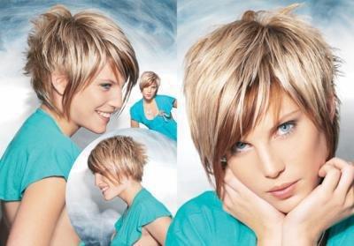 Photo coiffure long devant court derriere