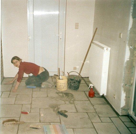 Joints carrelage 3 travaux maison sidonie114 photos for Travaux carrelage