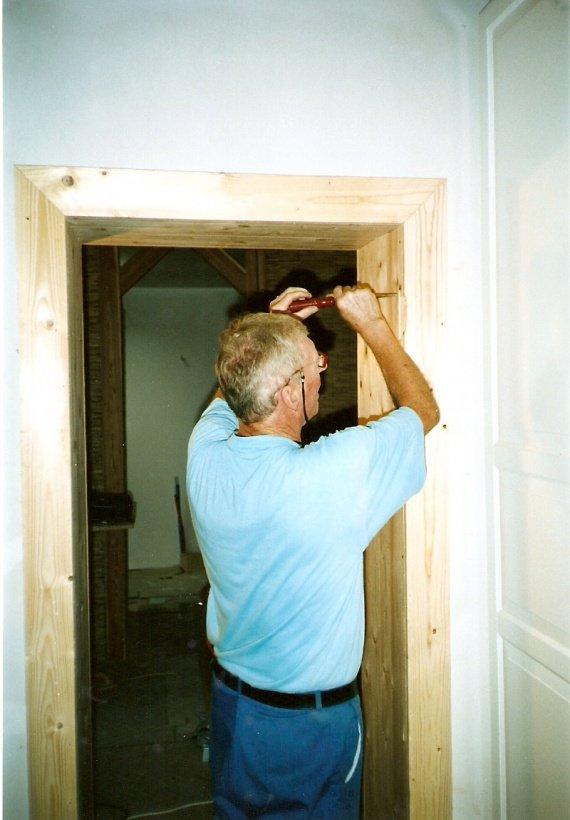 Encadrement Porte Chambre-Dressing - Travaux Maison - Sidonie114