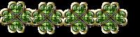 ligne 4 trèfles