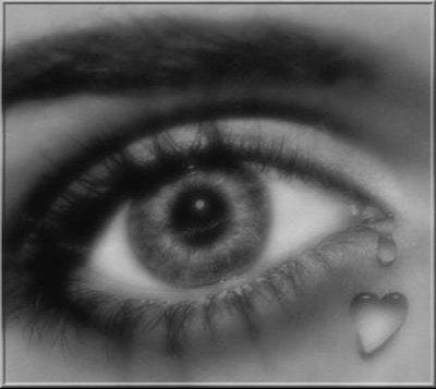 une larme