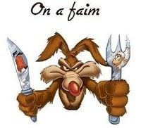 Faim - coyotte