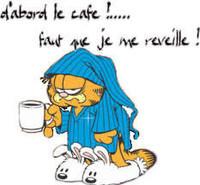 Café et je me réveille