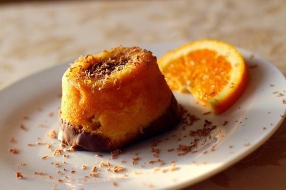 mel orange dessert