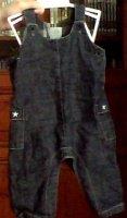 salopette boutchou en jean mixte