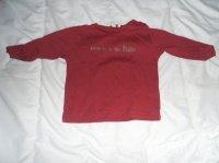 T shirt manches longues grain de blé 6 mois 2€