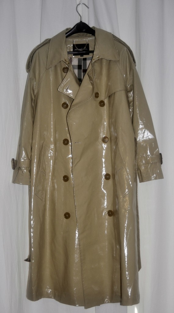 TRENCH CIRE BEIGE