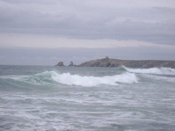 les vagues.....;