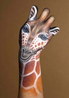 girafe main..