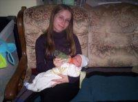 Stéphanie et son petit filleul