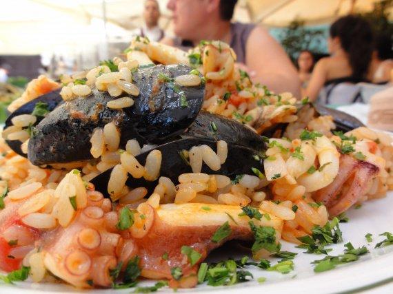 Rizzoto aux fruits de mer 2