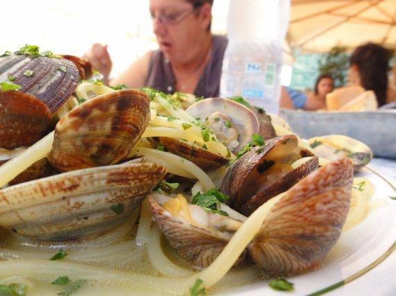 Pates aux fruits de mer + persil 2
