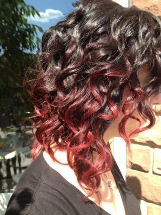 ombr hair rouge coiffure et coloration forum beaut. Black Bedroom Furniture Sets. Home Design Ideas