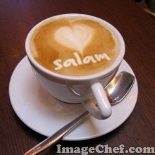 tasse café salam