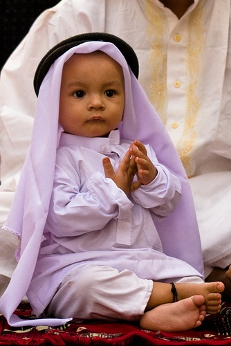 enfant musulman bebe