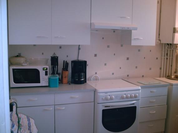 decoration cuisine hlm. Black Bedroom Furniture Sets. Home Design Ideas