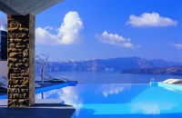 très bel hôtel Santorin - cm