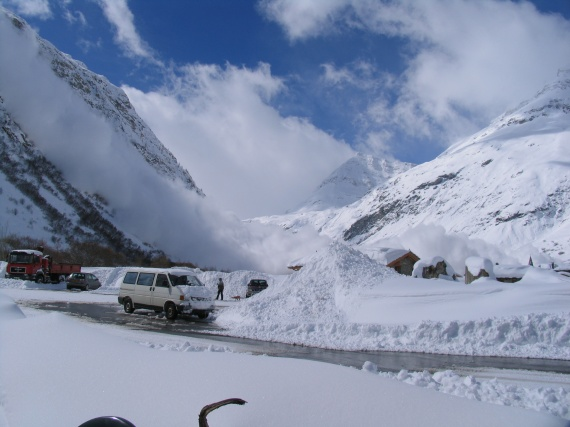 2008 avalanche Bonneval
