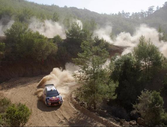 Loeb rallye de Turquie