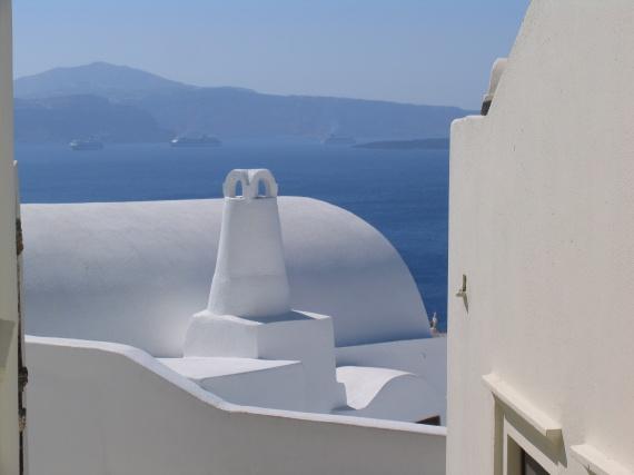 architecture Santorin...