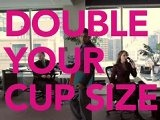 double your cup size