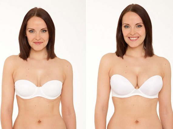 Before and After Thick Padded Bra