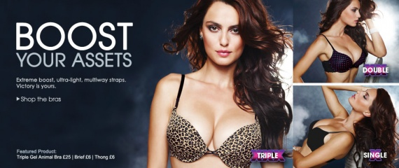 La Senza Triple Gel Push-Up