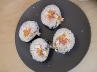 sushi première fournée