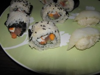 Sushi seconde fournée