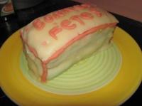 Gâteau fini