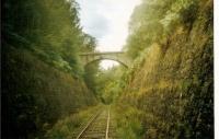 Vue du train touristique Ambert-La Chaise -Dieu -Sembadel