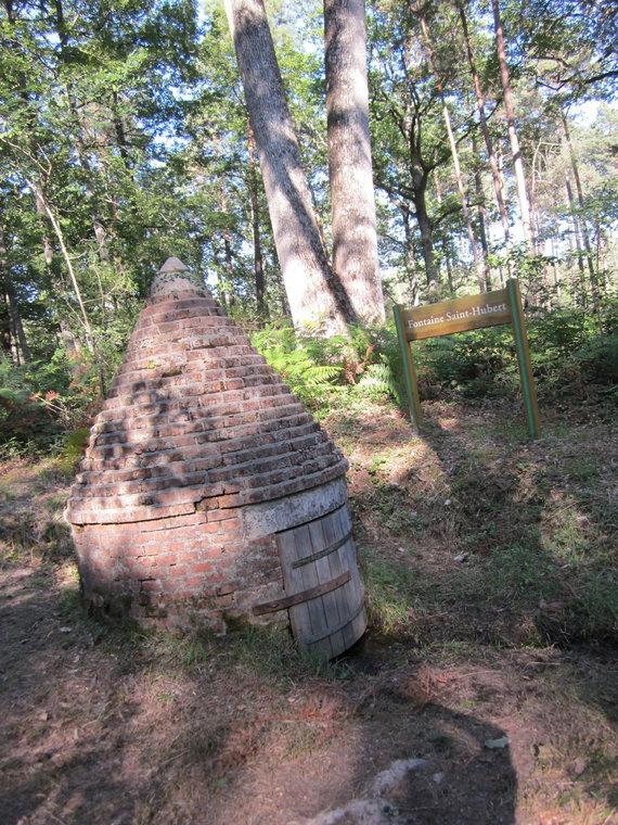 source, sentier des sources en forêt d'Orléans