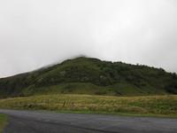 descente du Puy Mary, il est dans le brouillard